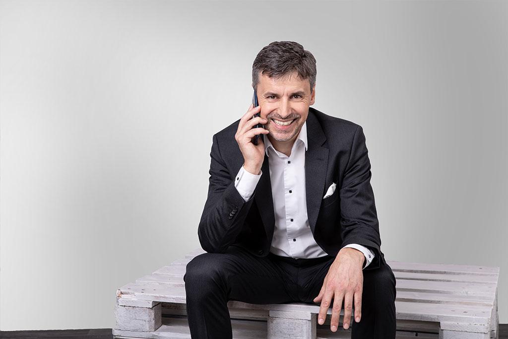 Stefan Dietz - nehmen Sie Kontakt auf und rufen Sie an. Ich freue mich auf den Dialog mit Ihnen.
